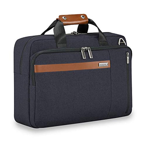 Briggs & Riley Kinzie Street Convertible Brief Briefcase, Navy, One Size