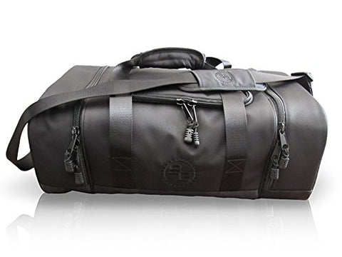 StatGear Diem Duffel Travel Gym Bag - Carry On, Water Resistant Laundry Bag