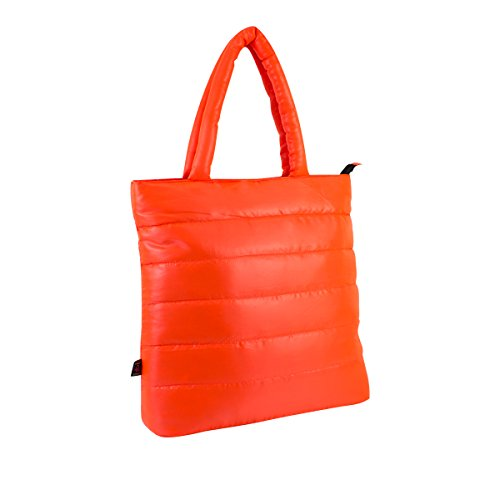 Eastsport Ultra-Lite Tote, Neon Orange