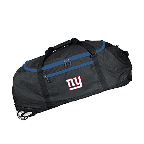NFL New York Giants Crusader Collapsible Duffel, 36-inches
