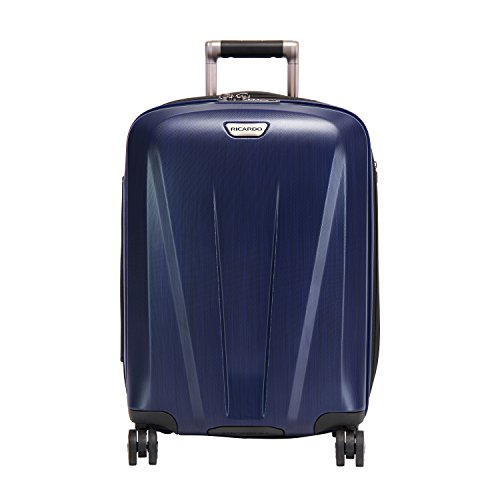 Ricardo Beverly Hills Rio Dell 21-inch Wheelaboard Luggage, Skydiver Blue