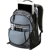 "Wenger SwissGear Granite 16"" Laptop Backpack Travel School Bag Black-Geo"