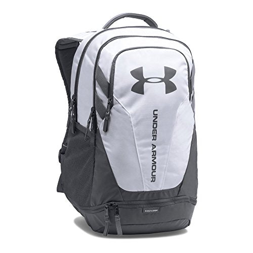Under Armour Hustle 3.0 Backpack, White (100)/Graphite, One Size