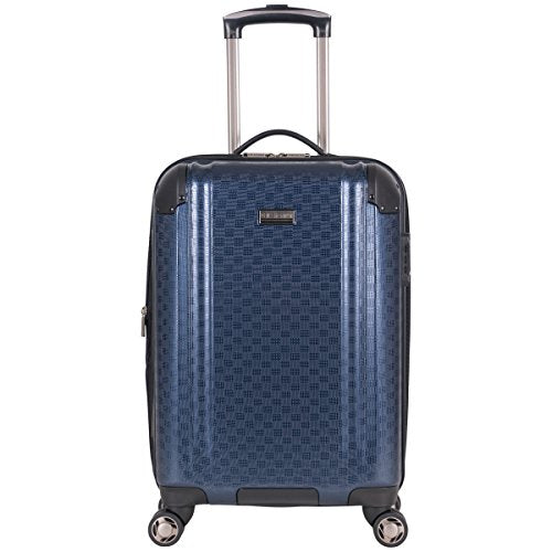 "Ben Sherman 20"" Pap Expandable 8-Wheel Luggage Carry-On, Navy"