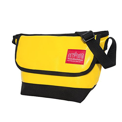 Manhattan Portage Vinyl Messenger Bag XX-Small Ver3, Yellow, One Size