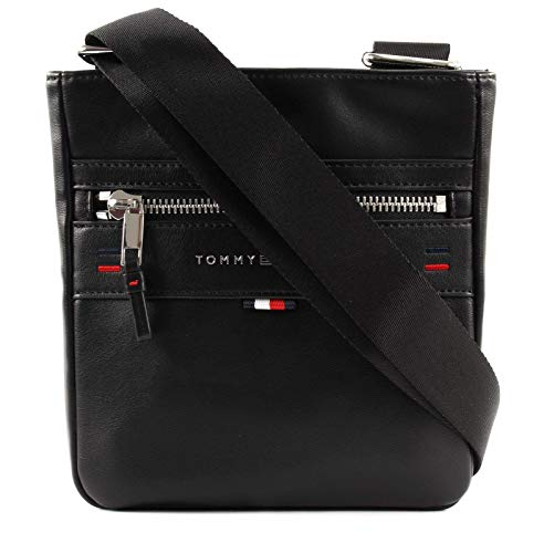 Tommy Hilfiger Elevated Mini Crossover Novelty, Men's Shoulder Bag, Black, 8.5x17x30 cm (B x H T)