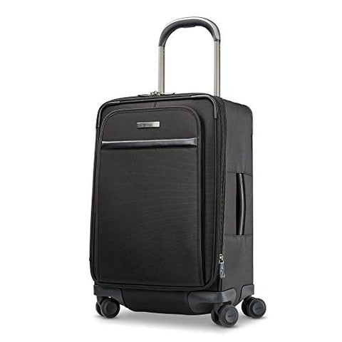 Hartmann Metropolitan 2 Global Expandable Spinner Carry-On Luggage, Deep Black