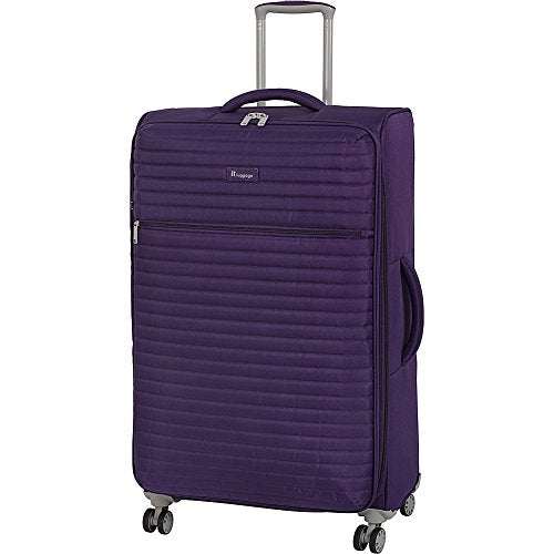 "It Luggage 31.3"" Quilte Lightweight Expandable Spinner, Petunia"