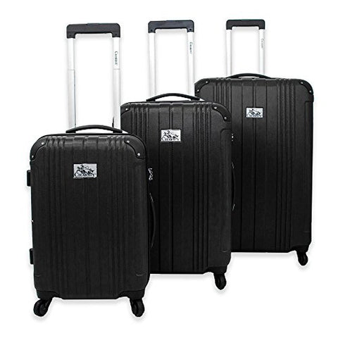 The Black Chariot Monet 3-Piece Rolling Luggage Set