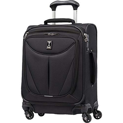 "Travelpro Walkabout 3 19"" International Expandable Carry On Spinner, Black"