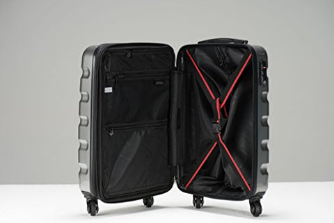Triforce Midtown Collection Hardside 4 piece Spinner Luggage Set