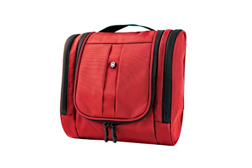Victorinox Hanging Toiletry Kit, Red, One Size