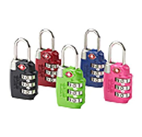 Tsa Combination Lock, Red
