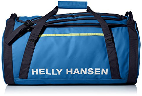 Helly Hansen Duffel 2 Water Resistant Packable Bag with Optional Backpack Straps, 50-liter (Medium), 558 Stone Blue