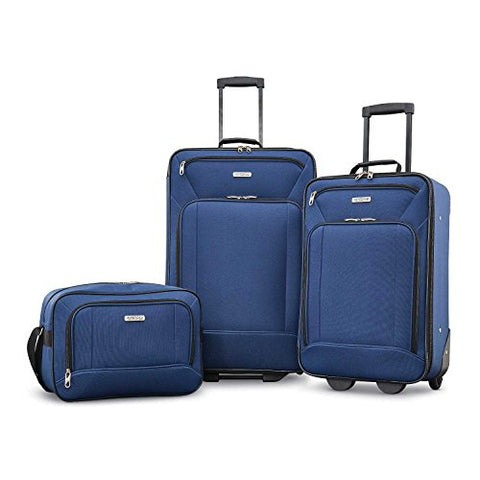 American Tourister Fieldbrook XLT 3 Piece Set Navy