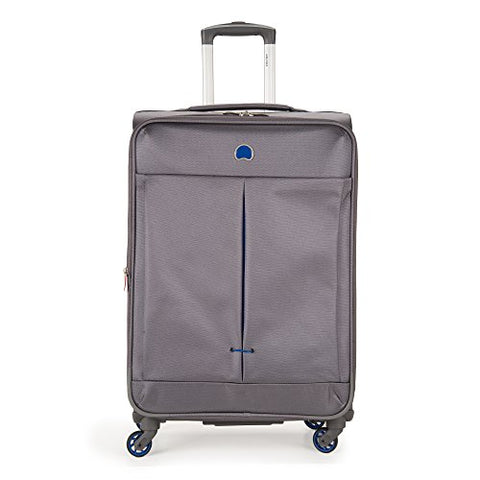 "DELSEY Paris Delsey Air Adventure 25"" Expandable Spinner Luggage, Grey"