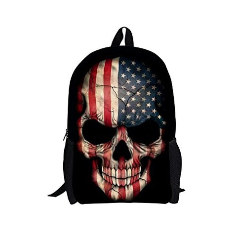 Freewander Casual Schoolbag Creative Personalized Animal Printed School Backpack (Design-3)
