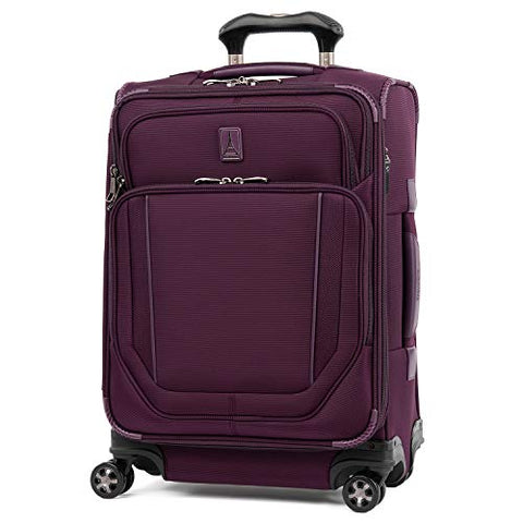 Travelpro Crew Versapack Max Carry-on Exp Spinner, perfect Plum