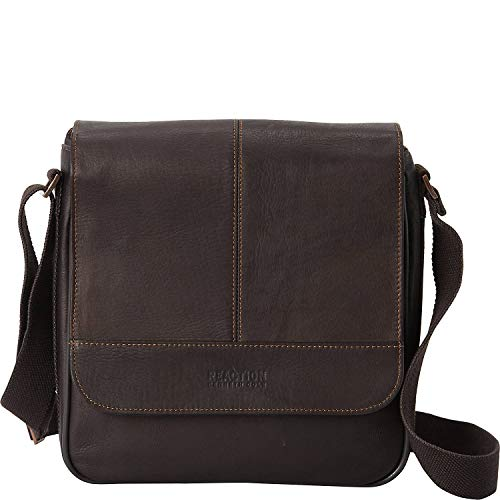 Kenneth Cole Reaction Bag for Good - Colombian Leather iPad/Tablet Day Bag, Brown