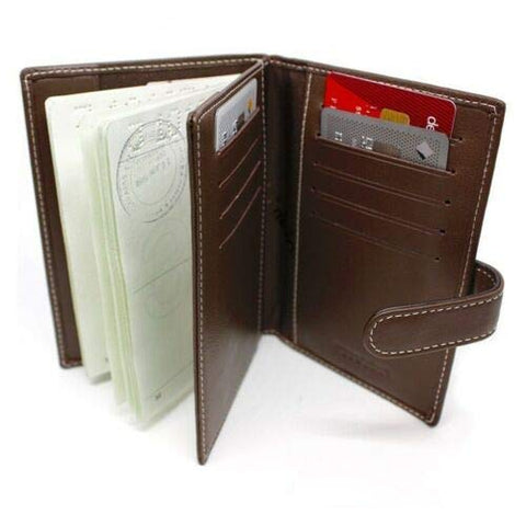 Numinous London RFID Passport Holder (Brown)