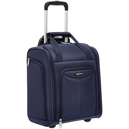 AmazonBasics Underseat Luggage, Navy
