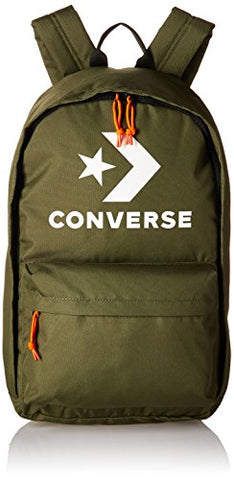 Converse All EDC 22 Backpack Star Chevron Print, Hunter Green/White One Size