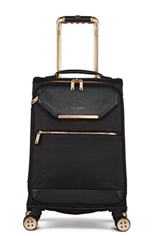 Ted Baker Women'S Albany Softside 4Wl Cabin Trolley (One Size, Black)