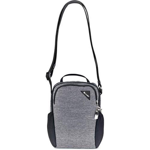 "PacSafe Vibe 200 Crossbody Anti Theft Compact Travel Shoulder Bag - Fits 10.5"" Tablet, Granite"