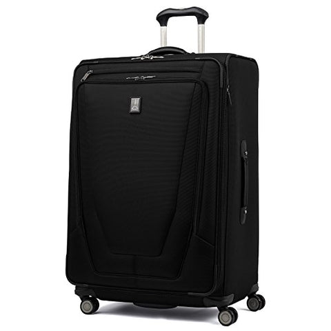 "Travelpro Luggage Crew 11 29"" Expandable Spinner Suitcase with Suiter, Black"