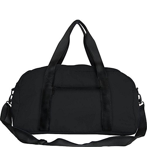 Netpack Soft Lightweight Travel Duffel With Rfid Pocket (Black)