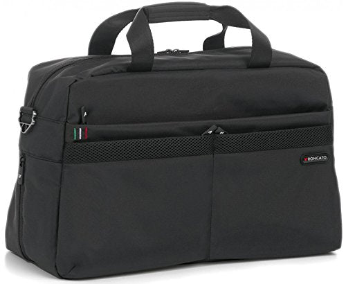 "Roncato Venice Sl - Expandable Cabin Duffle/Tablet Holder 10"" (Black)"