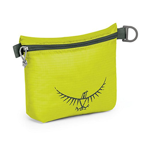 Osprey Packs UL Zipper Sack, Electric Lime, Small