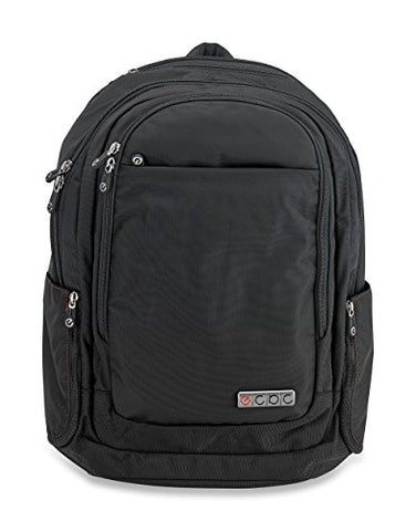Ecbc Javelin - Backpack Computer Bag - Black (B7102-10) Daypack For Laptops, Macbooks & Devices
