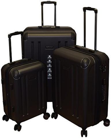 Kenneth Cole Reaction 8 Wheelin Collection Lightweight 3-PC Expandable Hardside Spinner Luggage Set