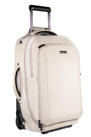 ECBC Pegasus Convertible Wheeled Backpack and Laptop Bag, Linen (K8101-55) + 5500 mAh PowerBank