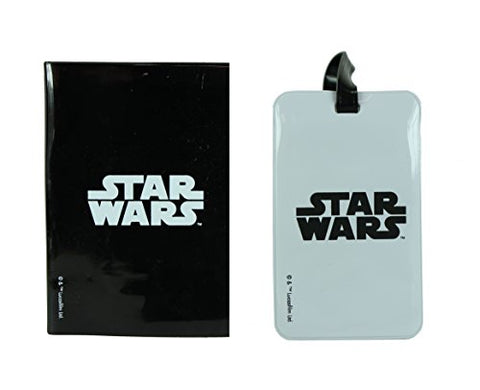 Star Wars Black & White Passport & Luggage Tag Set Travel Set