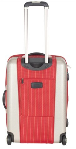 20 in. Oneonta Suitcase in Red
