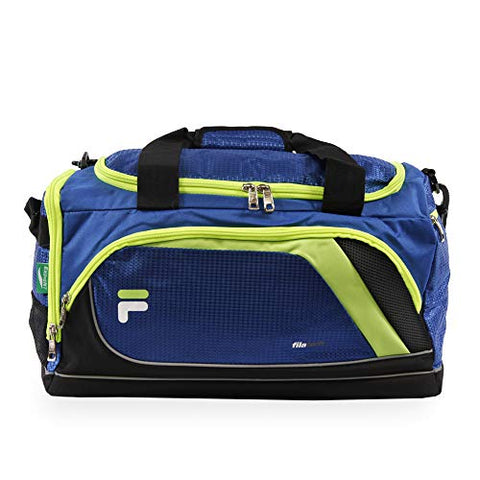 "Fila Advantage 19"" Sport Duffel Bag, Blue/Lime"