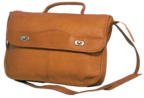 David King & Co. 1/2 Flap Over Expandable, Tan, One Size