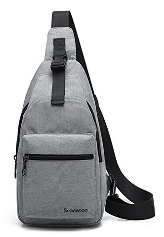 Scarleton Simple Sling Bag H205303 - Grey