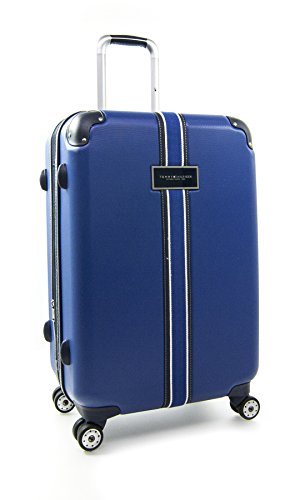 "Tommy Hilfiger Classic 25"" Expandable Hardside Spinner, Royal Blue"