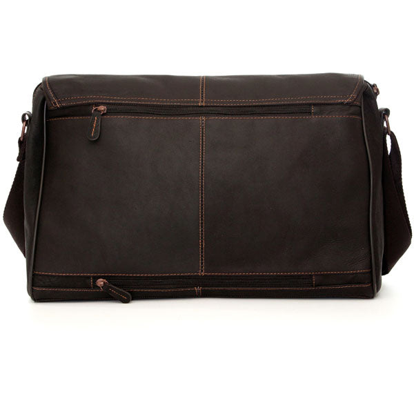 Jill-e Designs JACK 15in Leather Laptop Bag - Luggage Factory