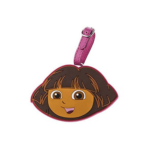 Nickelodeon Dora The Explorer Face Silicone Luggage Tag