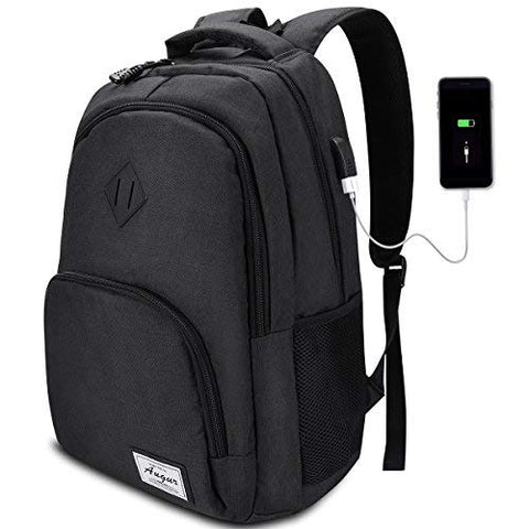 College Backpack,Laptop Backpack with USB Charging Port,School Bookbag Computer Bag 35L for Women &