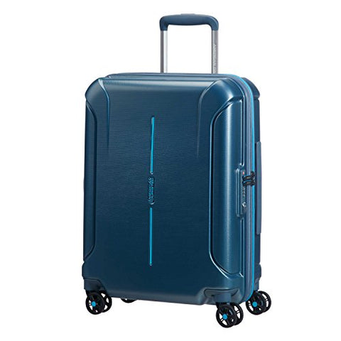 American Tourister Technum Spinner Hardside 20, Metallic Blue