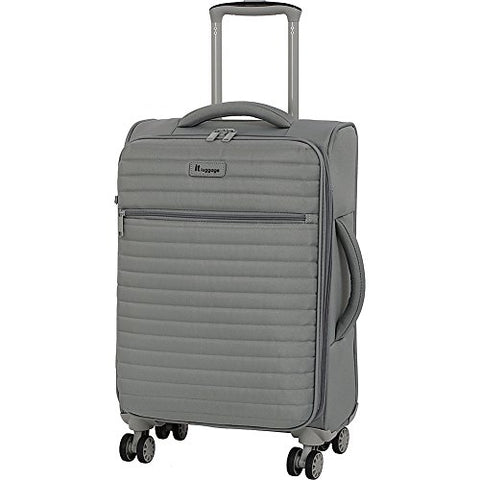 "It Luggage 21.5"" Quilte Lightweight Expandable Spinner, Flint Grey"
