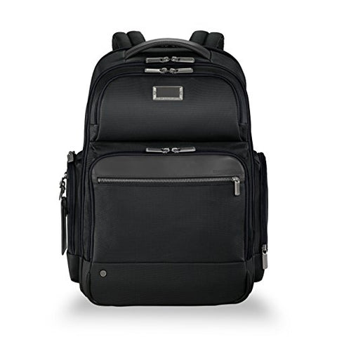 Briggs & Riley @work Large Cargo Laptop Backpack, Black