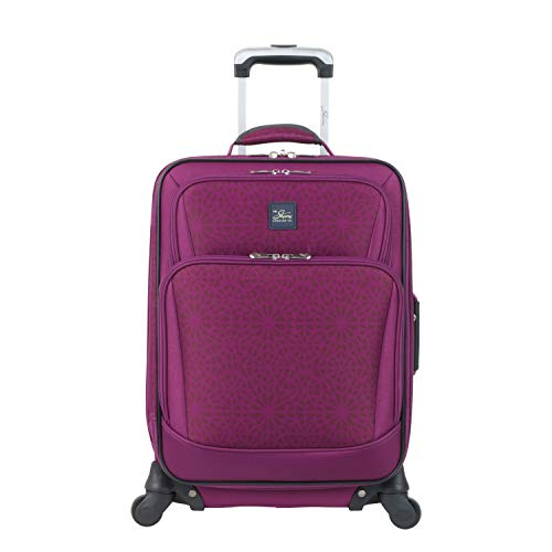 "Skyway Epic 20"" Expandable Carry-On Spinner Berry Tile"