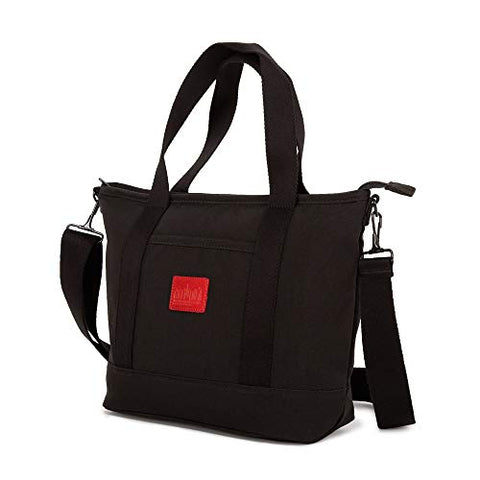 Manhattan Portage WAXED NYLON REGO TOTE (SM), black