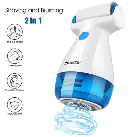 Aidonger Fabric Clothes Shaver Fuzz Lint Remover Suitable to Use on Pilling Surfaces,Such As